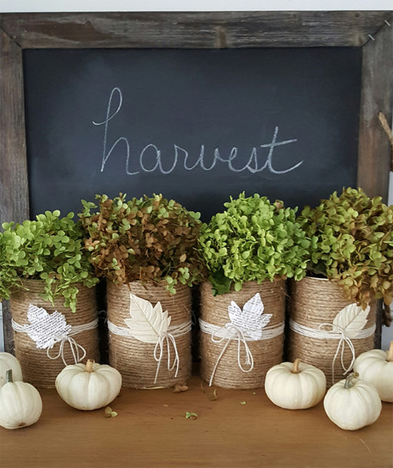 Fall Home Decorating Ideas: Fall Decor Vignette