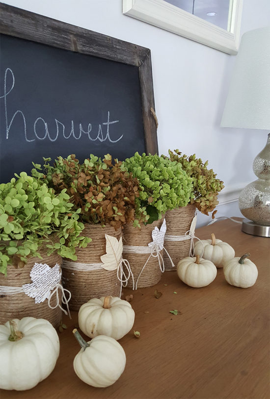 Budget decorating ideas - fall decor ideas