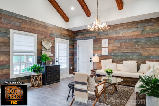 add character with wood beams