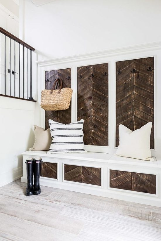 rustic wall planks reclaimed wood