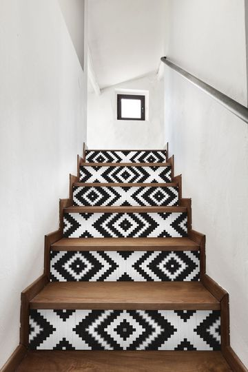Pattern Tile Staircase Runners