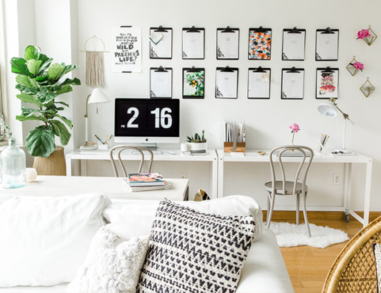 white-modern-home-office