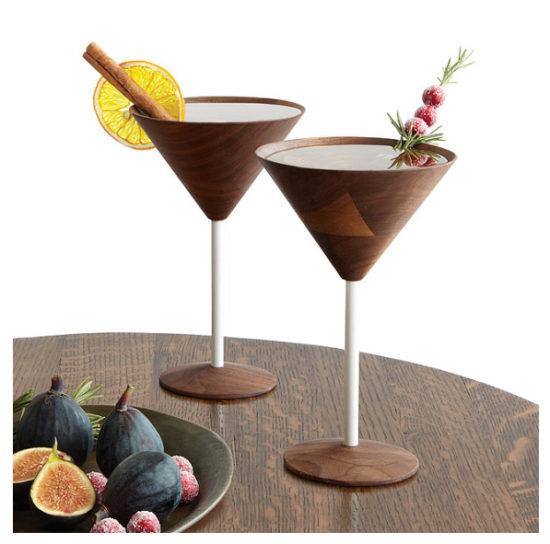 wooden-martini-glasses-uncommon-goods