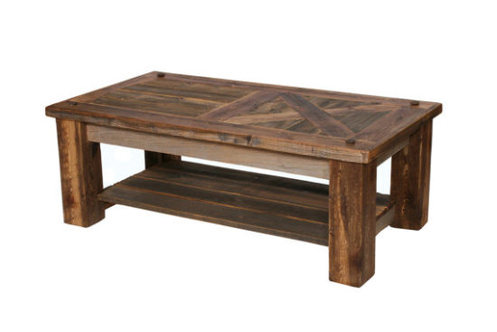 Barn Door Coffee Table Farmhouse Style Gift Ideas from Etsy