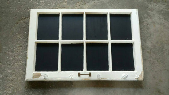Chalkboard Window Frame