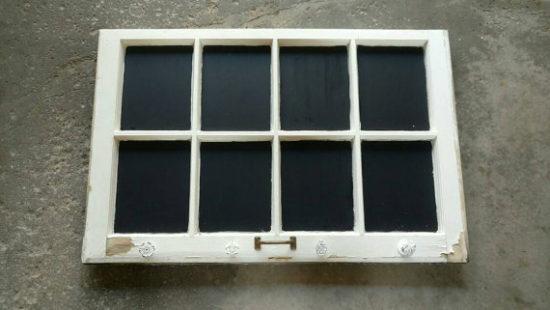 Chalkboard Window Frame