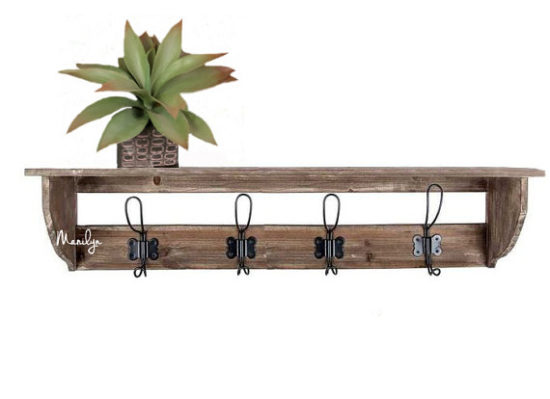 Farmhouse Style Coat Rack