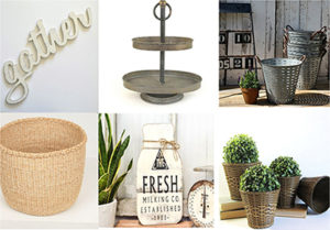 Farmhouse style gift ideas from Etsy