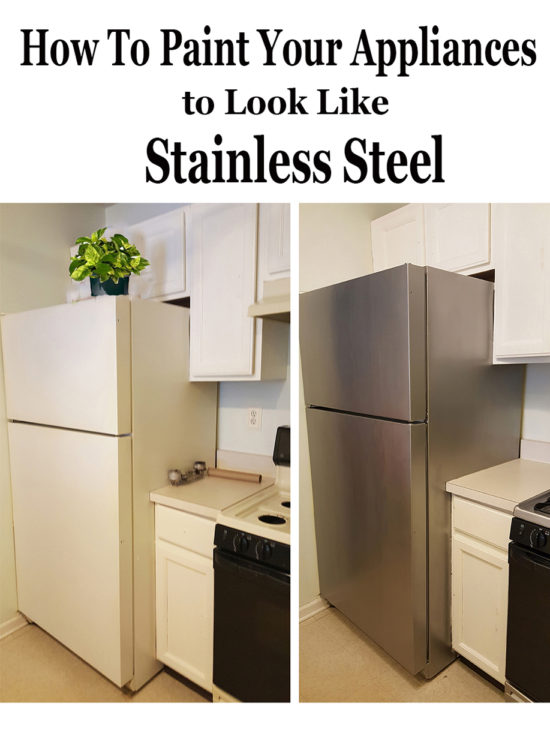 How to paint appliances - it really works and it looks amazing!
