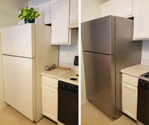 how to paint your appliances