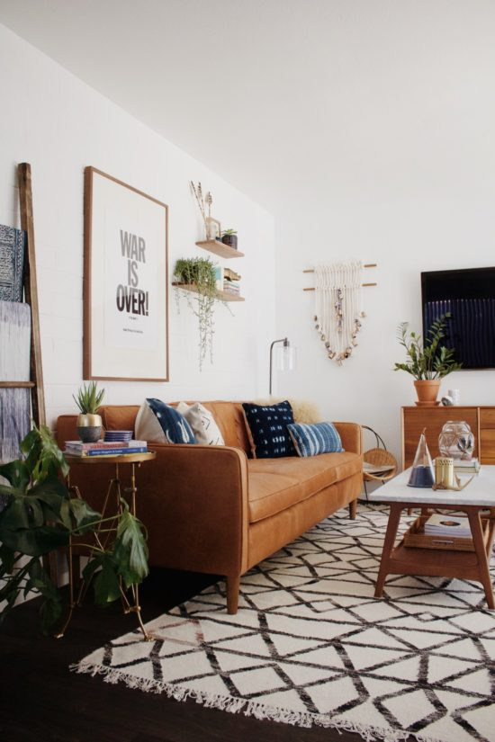 Boho Modern Living Room New Darlings