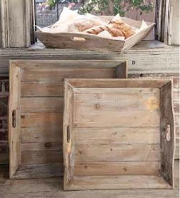 Reclaimed Wood Trays Farmhouse Gift ideas Etsy