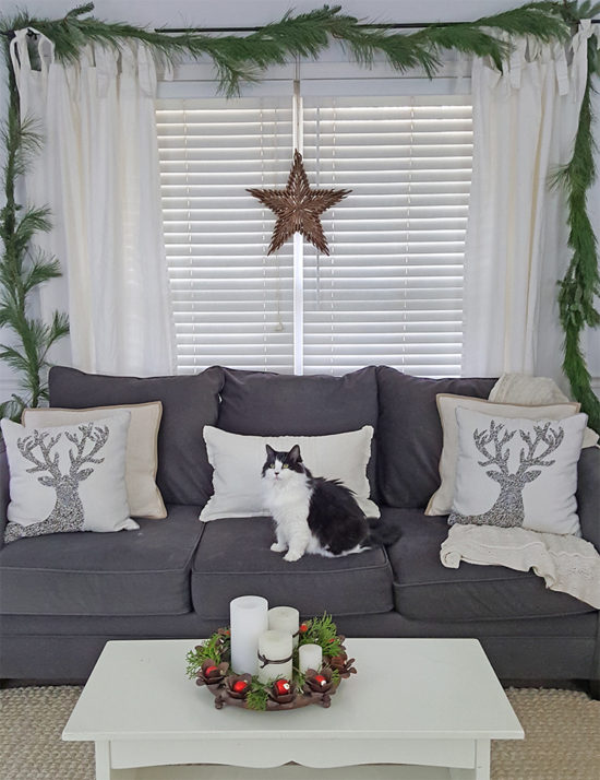 Simple Christmas decorating ideas, Christmas home tour
