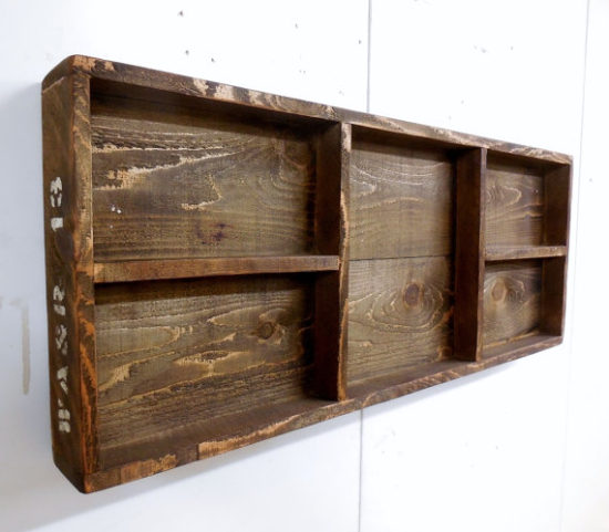 Wooden Crate Shadow Box