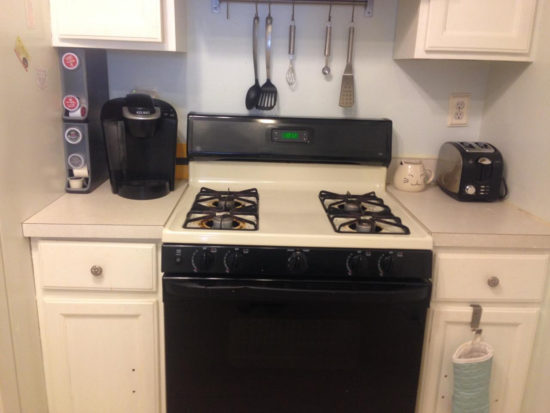 How to paint a stove to look like stainless steel