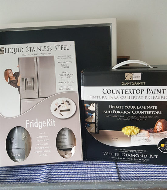 Stainless Steel appliance paint