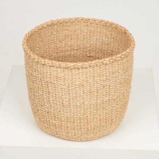 natural woven storage basket