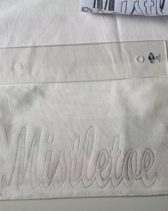 stencil-transfer-pillow-cover