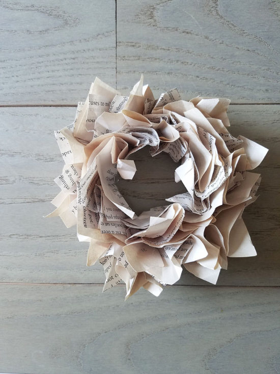 book-page-wreath-ornaments-for-christmas