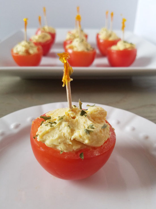 Stuffed Tomatoes Appetizer recipe