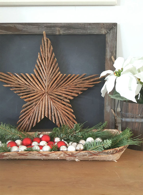 Rustic Christmas star