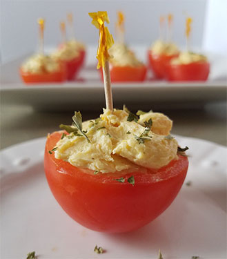 Stuffed Cherry Tomatoes – Virtual Cocktail Party