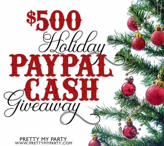 holiday paypal cash giveaway