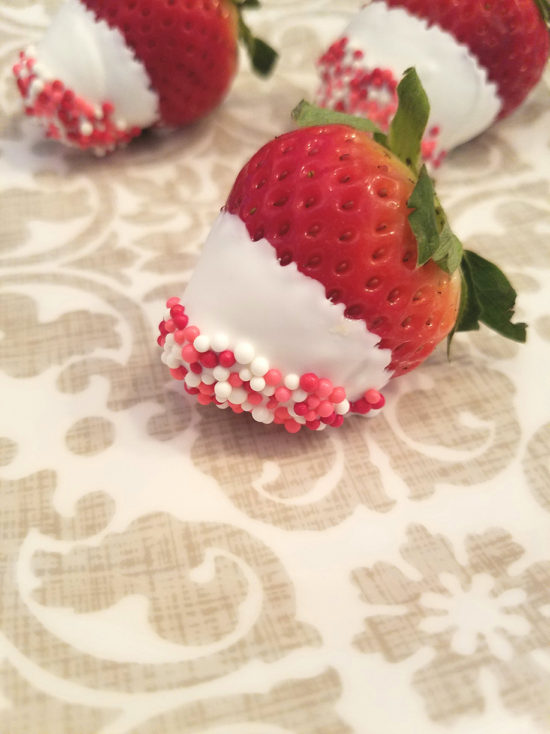 Champagne Soaked Strawberries Perfect for Valentine's Day!
