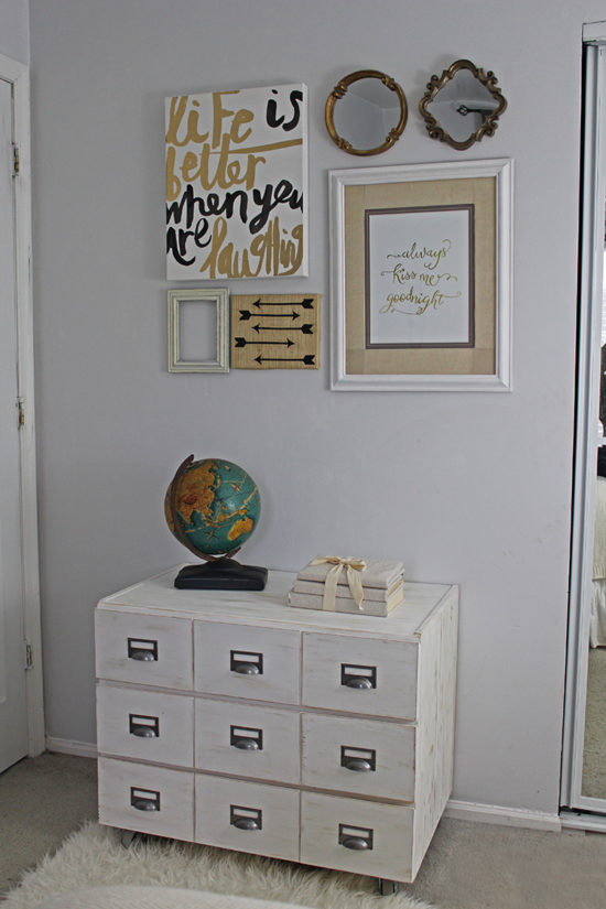 Ikea chest makeover library catalog DIY nightstand