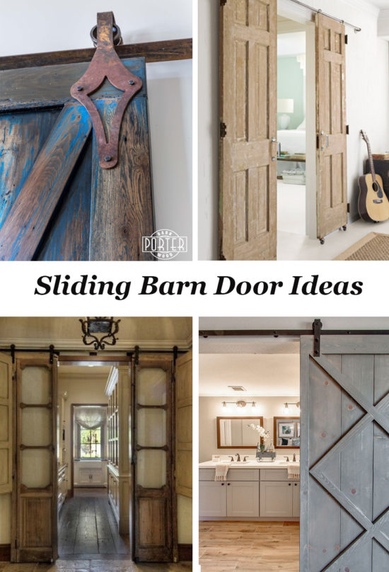 Sliding Barn Door Designs: Sliding Barn Door Ideas