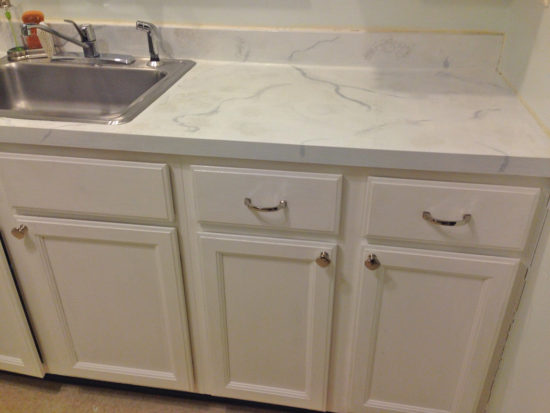 Painted Countertops how to