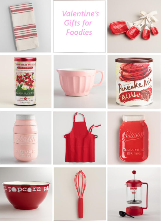 Valentine's Day gift ideas for foodies that they will love all year long!