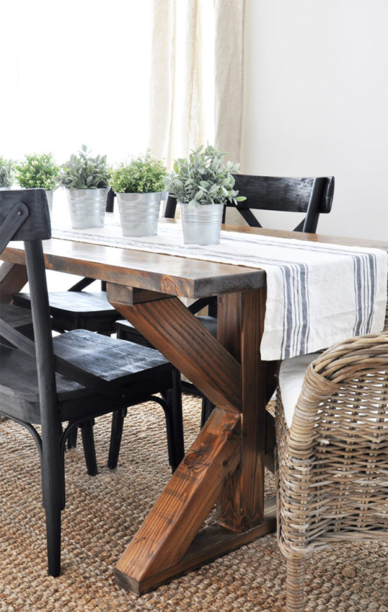 farmhouse table build cherished bliss