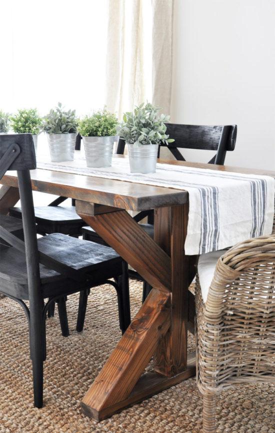 farmhouse table build cherished bliss