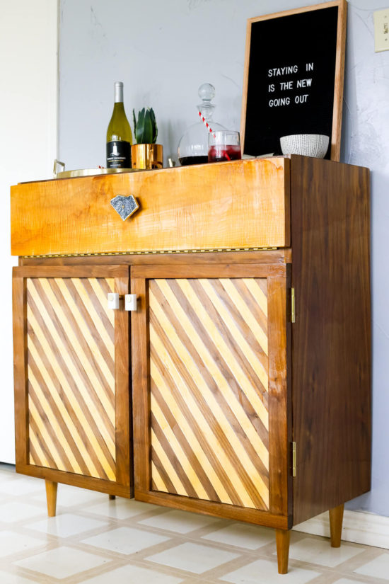diy bar cart love and renovations