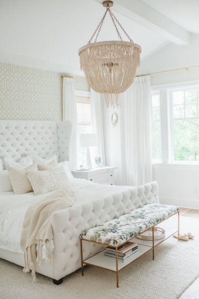 gorgeous white bedroom monika hibbs