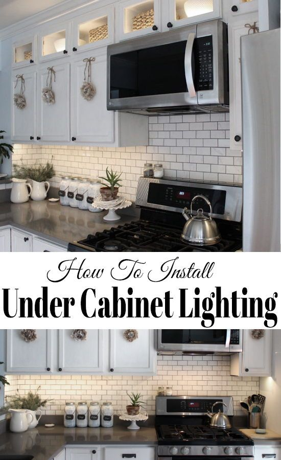 How to install kitchen cabinet lighting using LED tape lights, it's easier than you may think and doesn't cost a fortune!