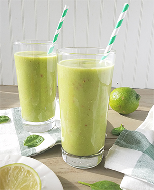 Pineapple Spinach Smoothie Recipe
