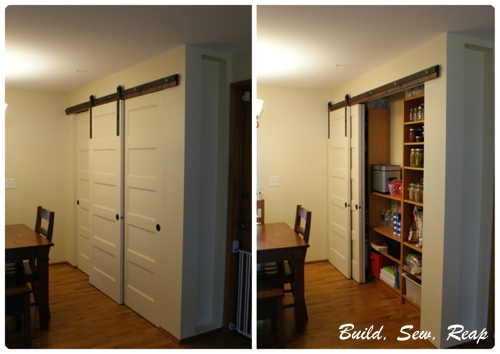 triple sliding doors diy