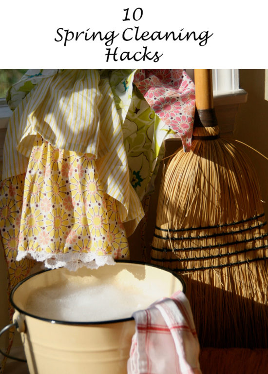 10 Spring Cleaning Hacks to make your life easier!