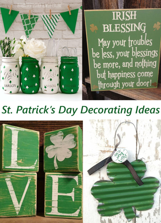 12 Fun St Patricks Day decor decorating ideas