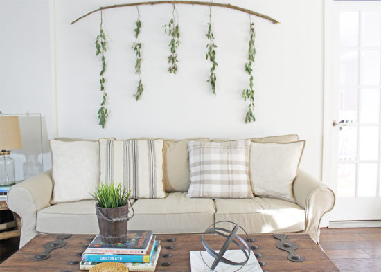 DIY Wall Art Eucalypts