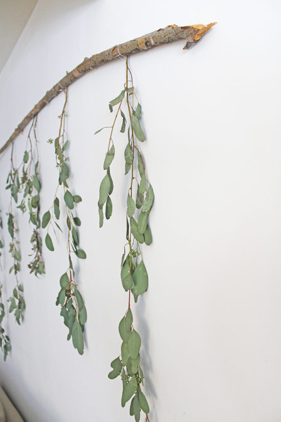 DIY Wall Art with Branch