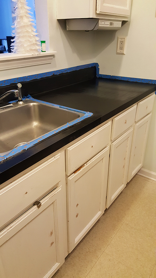 Prime And Paint Your Countertops
