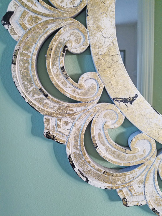 coastal rustic mirror