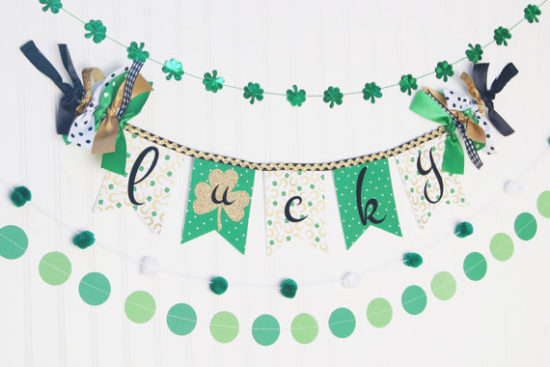 st patricks day decorating ideas banners