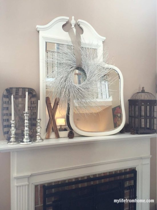 winter mantel my life from home