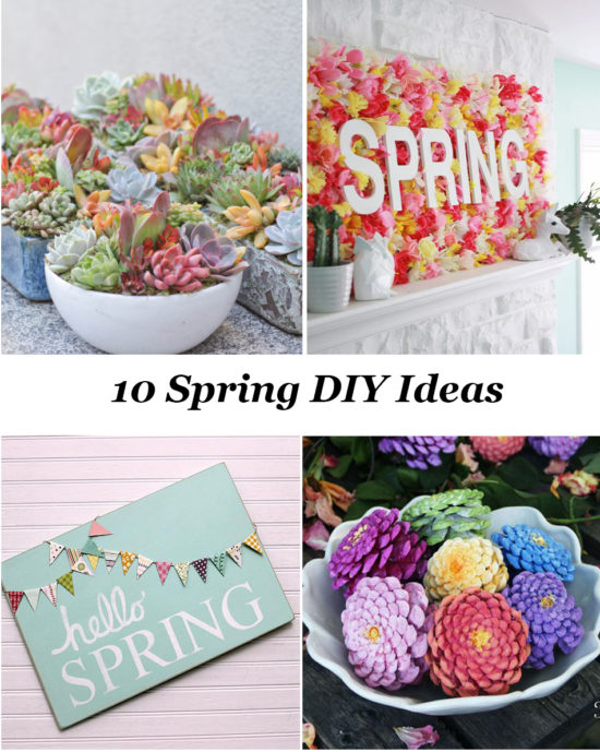 10 DIY Ideas for Spring that you have to see PIN