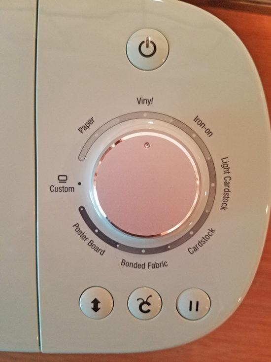 Cricut settings for beginners
