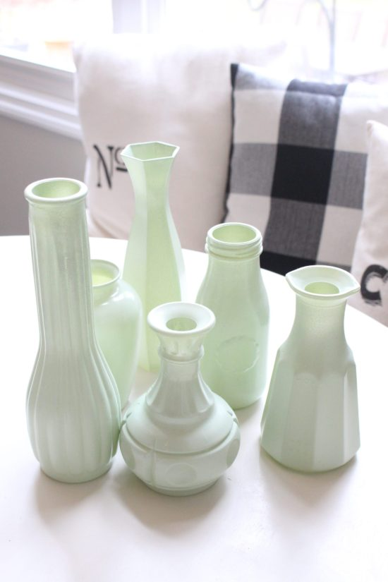 DIY Milk Glass My Life From Home